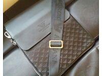 brand new armani messenger bag