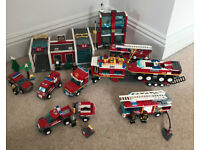 Lego City Fire, sets 7208, 7942, 60001, 60002 and 4430
