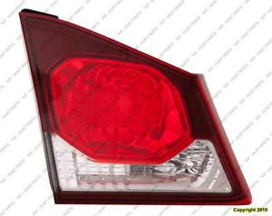Trunk Lamp Driver Side (Back-Up Lamp) High Quality Acura CSX 2009-2011