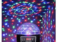 New LED Laser Crystal Magic Ball Remote Control DMX Auto-Play Sound-Active Party Disco DJ Stage