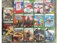 Xbox 360 games - £2 each/ £15 job lot