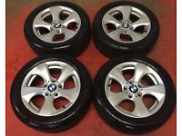 "BMW 3 Series 16"" Alloy Wheels with tyres - f30"