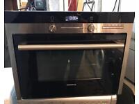 SIEMENS HB84E562B BUILT IN COMBINATION MICROWAVE STAINLESS STEEL EXCELLENT ONE 4 MONTH WARRANTY