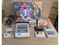 Original Super Nintendo starter collection