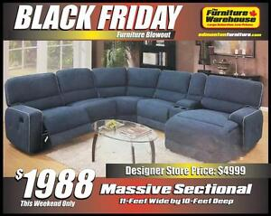 BLACK FRIDAY SAVE $2,000.00 on this Sectional!