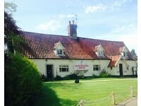 Senior & Junior Sous Chef for Stunning Norfolk pub on the outskirts of Norwich