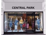 Central Park -Part-Time/Full Time Staff Required