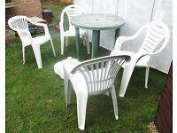 Plastic Garden Furniture