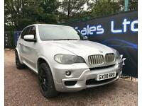 BMW X5 SD M SPORT FAT PACK (silver) 2008