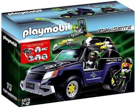 Playmobil 4878 Top Agents Robo Gangster Vehicle