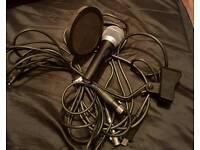 Shure PG48 Microphone recording bundle