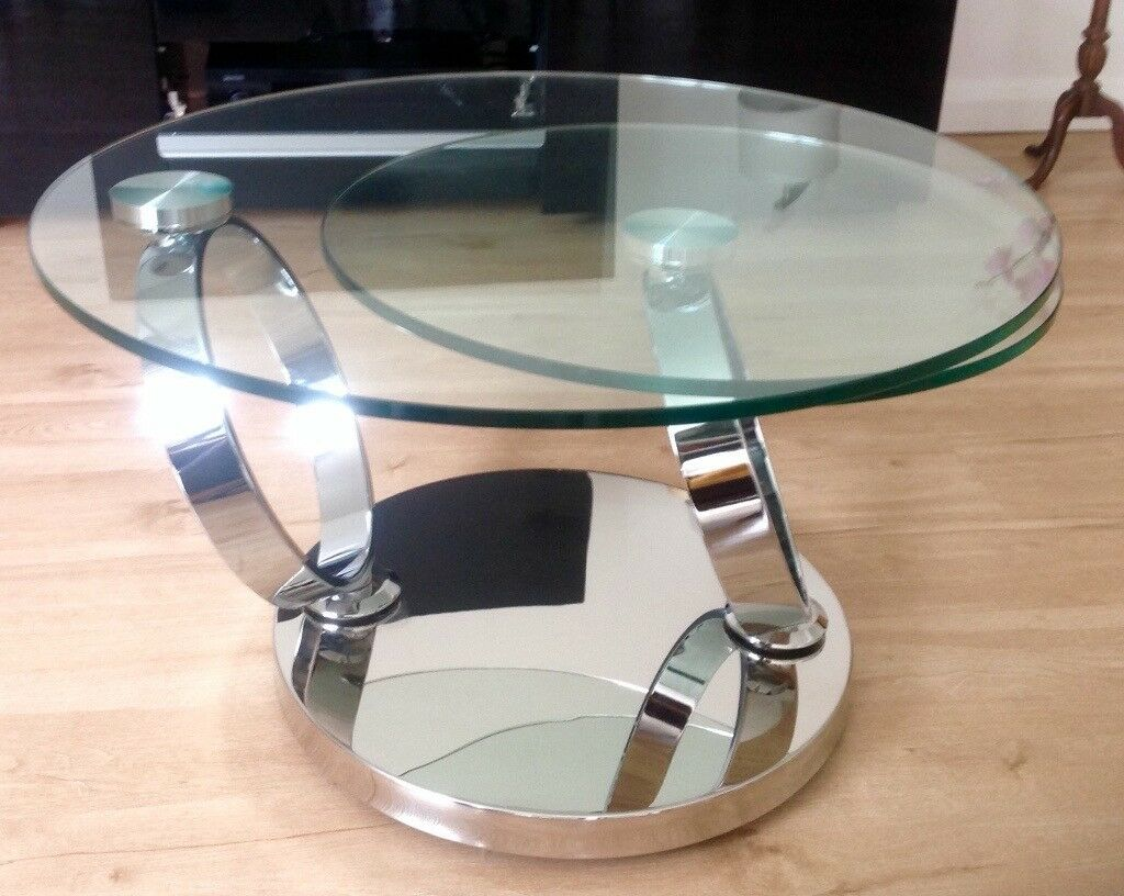 Greenapple Coffee Table Glass Magic Rotating In Four Winds Belfast Gumtree