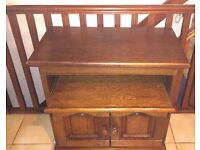 Wooden TV Unit (could also be hall cupboard)