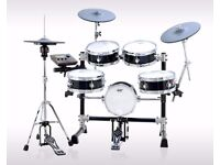 Goedrum Je6 Electric Drum Set Digital Electronic edrums in Black full mesh set not roland td11 td25