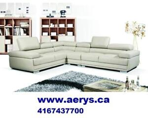 FURNITURE WAREHOUSE PRICE SECTIONAL STARTS FROM $295!! GRAND OPENING SALE !! 416-750-0123!! boxing sale visit store !!