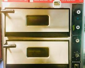 Double Deck Electronic Pizza Oven