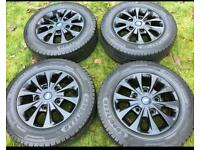 "16"" 17"" Ford Transit Custom Alloy Wheels With Goodyear Tyres MK9 2020 Alloys"