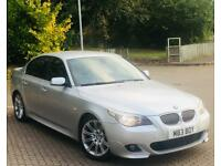 2006 BMW 530D M SPORT*LONG MOT*SERVICE HISTORY*FULLY LOADED*AUTOMATIC*PRIVATE PLATE INCLUDED*BEAUTY*