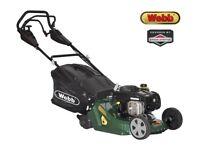 Webb Self-Propelled Petrol Rear Roller Lawn Mower Lawnmower w/ B&S Engine + WARRANTY! RRP £420!