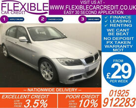 2010 BMW 320D 2.0 M-SPORT GOOD / BAD CREDIT CAR FINANCE FROM 29 P/WK