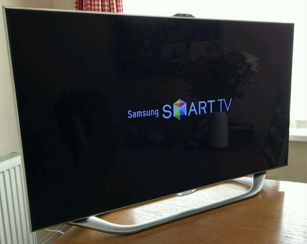 40in Samsung 8 series 3D SMART LED TV Camera 240hz Panel FREEVIEW/SAT HD