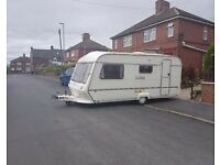 1994 coachman mirage 4 berth caravan, with full awning