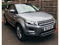 Attracticve Grey Range Rover evoque