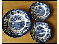 Royal Worcester Palissy Avon dinner service