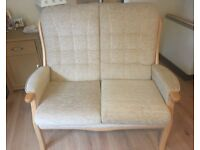 Two Seater Sofa and matching Rocking Chair