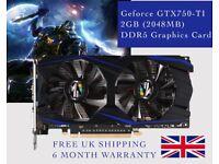 GeForce GTX 750 Ti 2GB 2048MB DDR5 Graphics Card BRAND NEW - MINING BITCOIN