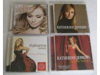 SMALL JOB LOT 4 KATHERINE JENKINS CD ALBUMS.