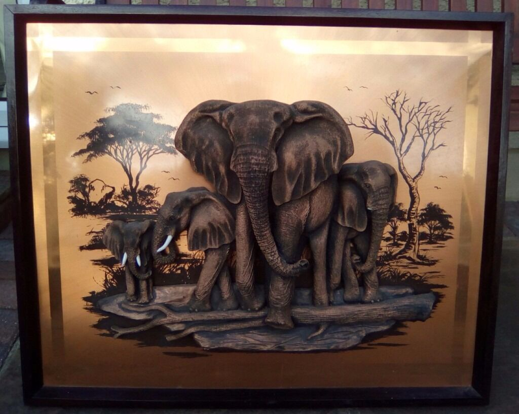 Elephant 3d Copper Picture In Gravesend Kent Gumtree