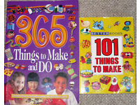 Books - Things to do and make 75p - £1.50 each