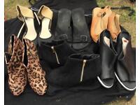 Bundle of size 5 shoes