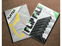 REDUCED! Flipfile A3 12 pocket display books - Brand New £2 each or 3 for £5 Collection price