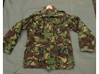 Vintage British Army Issue DPM TEMPERATE Combat Jacket (Large)
