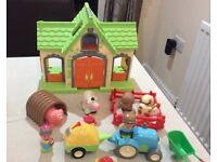 Elc early learning centre happyland farm set