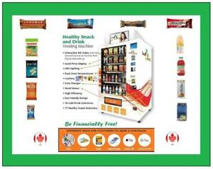 >>>   Ride The Healthy Snacks Wave | Simple Vending Operation |   Passive Profit