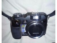 Sony cybershot dsc-v3 7.2 megapixel digital camera + soft case