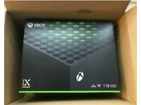 Xbox series X brand new in the box.