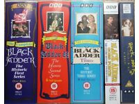 Black Adder - The Complete Series for 1-4 [VHS]