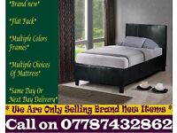 Storage Leather Bedding Frame Single also have double and king Fordoche