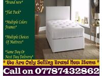 STRONG Single Bedding at Best PRICE base and frame Double Waterbury