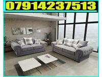 THIS WEEK SPECIAL OFFER BRAND NEW VERONA 3 + 2 OR CORNER SOFA SUITE 4584
