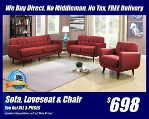 Brand New Quaility Furniture 4 Less-OPEN UNTIL 6:00 PM TODAY 587.460.7424