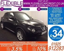 2012 NISSAN JUKE 1.5 DCI TEKNA GOOD / BAD CREDIT CAR FINANCE AVAILABLE