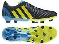 adidas Predator Incurza TR Firm Ground Mens Rugby Boots - Black RRP £164.99