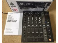 Pioneer DJM 700 Mixer With Original Box & Instructions