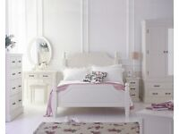 New Hambleton Cream bedroom clearance Double Bed Clearance SALE £239 Last One