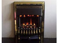 Valor Ultimate Balanced Flue Inset Gas Fire (Brass/Black) - NEW!